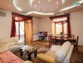 Վարձով - 3 սենյականոց բնակարան Թումանյան փողոց, Ջազվե սրճարանի մոտ