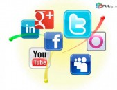 SMM facebook instagram էջերի ստեղծում և կառավորում