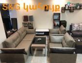 Բազմոց բազկաթոռներով, диван с креслами,sofa with armchairs