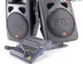 Rcf JBL EON dinamikneri (prakat) varcuyt Dj
