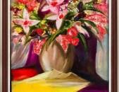 Nkar yuxanerkov oil painting