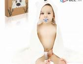 Մանկական, լոգանքի սրբիչ, 100% Բամբուկից