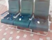 Сиденья от самолёта. для микроавтобуса