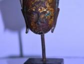 Antique XV dari Buddhai glux ardzanik, Bronze voskepat. Thailand (Ayutthaya Budd