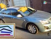 Vetravik / deflektor Chevrolet -ների բոլոր մոդելների համար, տեղադրումն անվճար