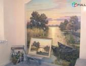 Նկարչություն պատերի վրա 3D nkar pati vra