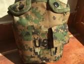 Տափաշիշ և ալյումինե կաթսա ճաշաման ամերիկյան բանակի նոր