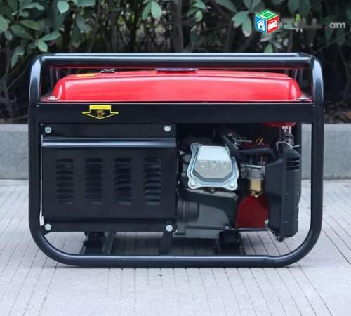 Generator / dvijok / движок / Электростанция / գեներատոր / bison 5 kw / bison 6k