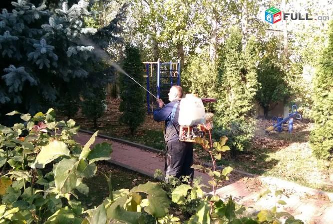 Կատարում եմ այգեգործական աշխատանքներ