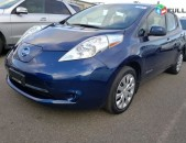 2016 nissan leaf s electric s 1n4bz0cpxgc312882