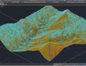 Autocad Civil 3d ծրագրով գծագրական աշխատանքներ