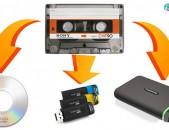 Tvaynacum  audio kaset оцифровка аудио  кассет թվայնացում