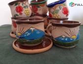 Սուրճի բաժակներ. կավից. kavic