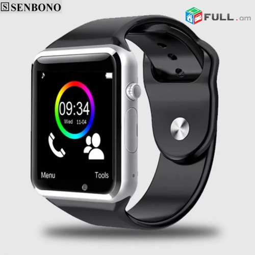 A1 наручные часы Bluetooth Смарт часы Спорт Шагомер с sim-камерой Smartwatch для Android смартфон Россия T15.