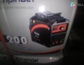 SHPINDEL firmai germanakan invertor 200 amper svarki aparat