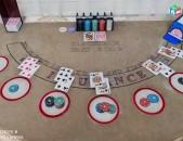 Poker, blackjack Table Sexan