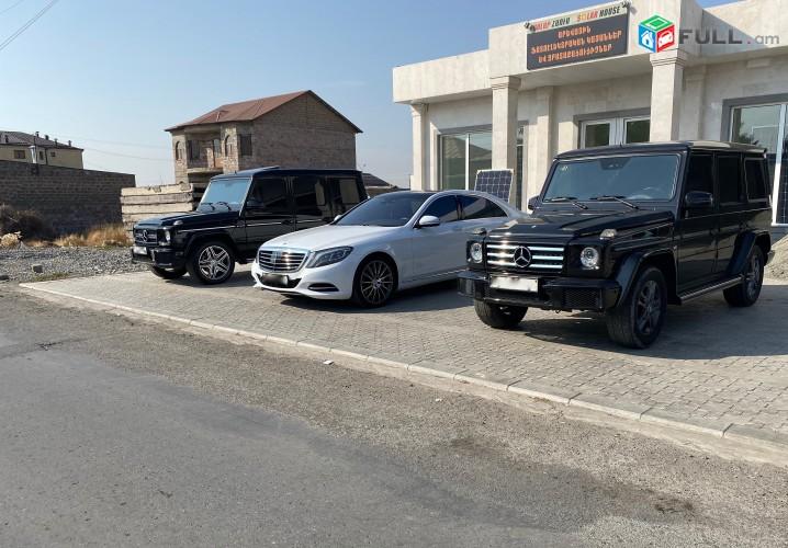 Ավտո վարձույթ, Аренда автомобилей, Rent a Car Mercedes-Benz W221 W222 S class