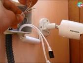 Անվտանգության համակարգի տեղադրում, կամերաների տեղադրում elekrtik Anvtangutyan kameraneri texadrum  24/7