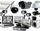 Անվտանգության համակարգի տեղադրում, կամերաների տեղադրում elektrik kameraneri texadrum  24/7