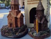 Ձեռքի աշխատանք եկեղեցիներ հուշանվեր / Ekexeciner dzerqi ashxatanq suvenir