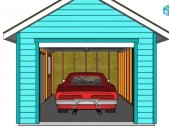 Avtotnak (garaj) avan arinjum гараж (QARE.) harmar e nyev pahesti. POXANAKUM