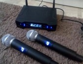 Microphone microfon Профессиональный UHF беспроводной Wireless Microphone