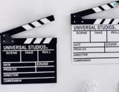 Ֆիլմի աքսեսուար Clapboard 1 հատ Առկա գործում է առաքում ողջ ՀՀ-ում