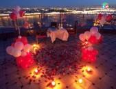 Ռոմանտիկ ժամանցի կազմակերպում Romantik jamanci kazmakerpum