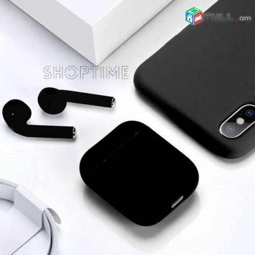 AirPods Black Mat/anlar akanjakal/Անլար ականջակալ սև մատվի/Չափազանց պրակտիկ