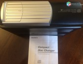 SONY CHANGER cdx-656 10-disc cd.