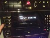AUX W203 mercedes audio20 i AUX-i miacum