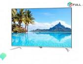 4K Smart TV 140sm. 55 Dyuym, DVB-T2 Wi-Fi, Հեռուստացույցների մեծ տեսականի