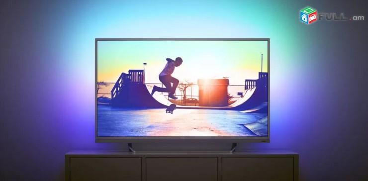4K Philips 55D. Smart TV 140sm. DVB-T2 Wi-Fi nor erashxiqov