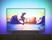 4K Philips 55D. Smart TV 140sm. DVB-T2 Wi-Fi nor erashxiqov