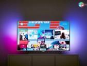 4K Philips 49pus6412 Smart TV DVB-T2 Wi-Fi nor erashxiqov