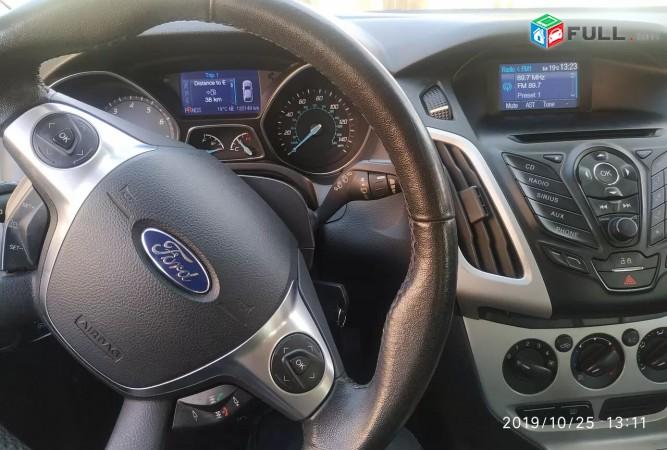 Ford Focus SE, 2013 թ. մաս-մաս վճարում