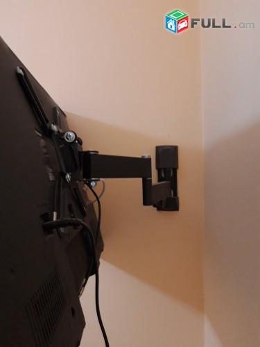 Tv կախիչների մոնտաժ և ամրացում