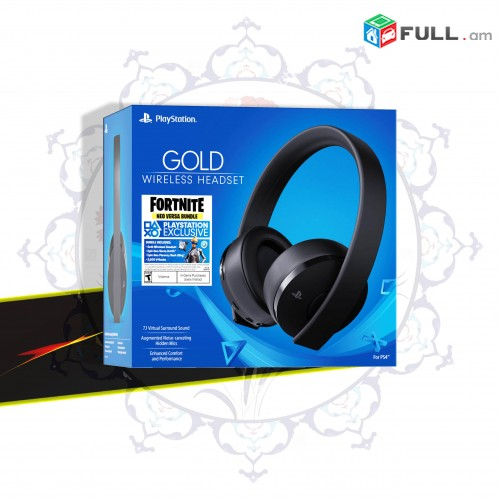 Sony PS5 Fortnite Neo Versa Gold Gaming Headset