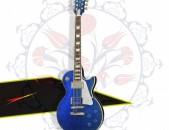 Tommy Thayer Les Paul - Electric Blue - elektrakan gitar