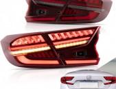 Honda Accord LED far hetev dem DRL / լուսադիոդային զույգ լուսարձակներ