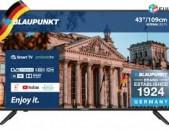 Herustacuyc smart tv Android հեռուստացույց Blaupunkt 43FE966T