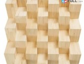 Beveled acoustic diffusor plate