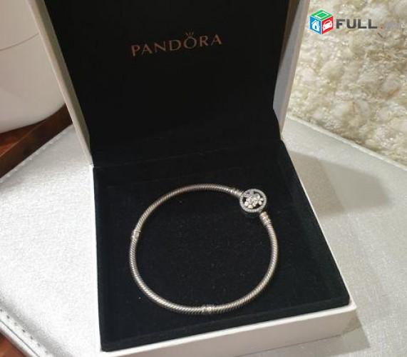 Pandora braclet Браслет с цветочной застежкой