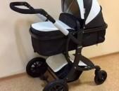 Mankasaylak, коляска амели в экокожа, baby stroller 2020