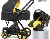 Belecoo մանկասայլակ 3 in 1/ baby stroller/ коляска/ mankasaylak