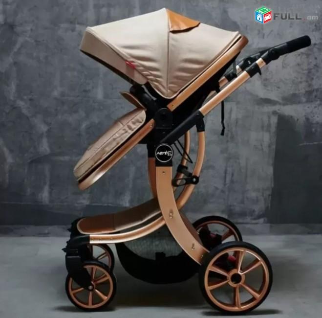Детская коляска трансформер 2в1 Aimile baby stroller