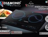 Ինդուկցիոն սալիկ (Indukcion salik, plita) Diamond DM - 5880
