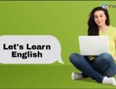Անգլերենի օնլայն պարապմունքներ,խոսակցական անգլերեն,անգլերենի անհատական դասընթացներ