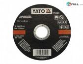 Կտրող քար 115*1.2*22/Ktrox qar 115*1.2*22mm./ YATO YT-6101, հատ