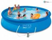 Pool бассейн Լողավազան Փչովի INTEX կիսափչվող basein loxavazan pchovi